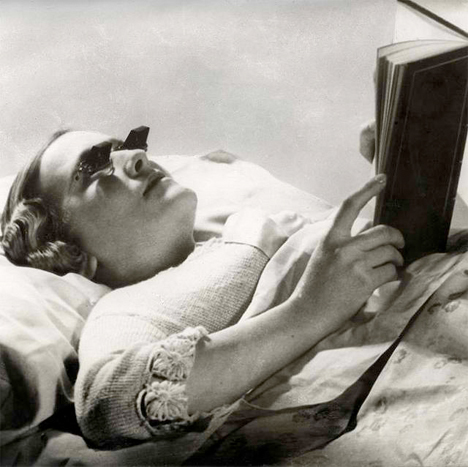 Bizarre Inventions Bed Glasses