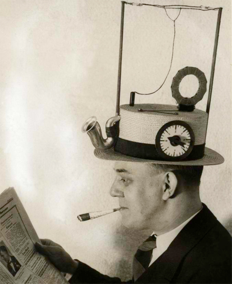 Bizarre Inventions Radio Hat