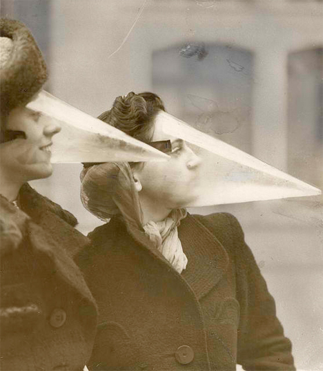 Bizarre Inventions Snowstorm Mask