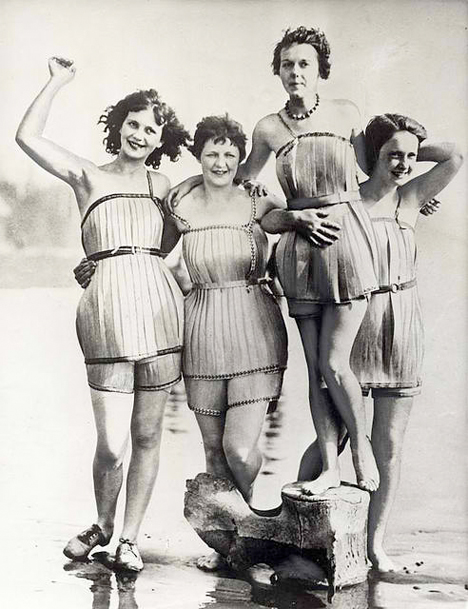 Bizarre Inventions Wooden Swimsuit
