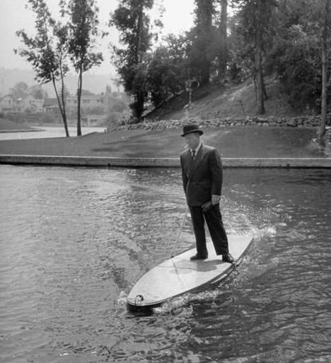 Bizarre inventions motorized surfboard