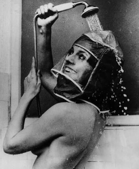 Bizarre inventions shower hood