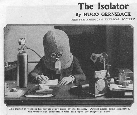 Bizarre inventions the isolator