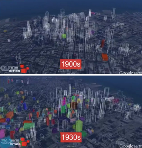 City Growth Maps San Francisco 1