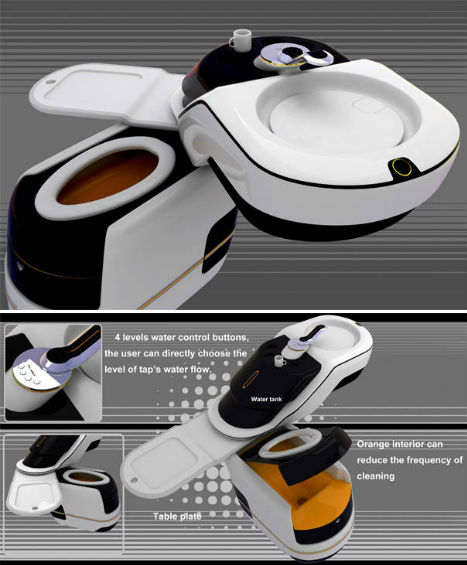 Compact Bathrooms All In One Toilet 2