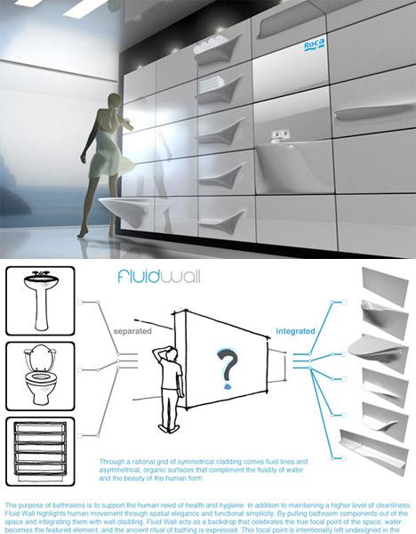 Compact Bathrooms FluidWall