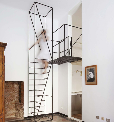 Steps To Saving Space Compact Stair Designs For Lofts Urbanist - Compact stairs