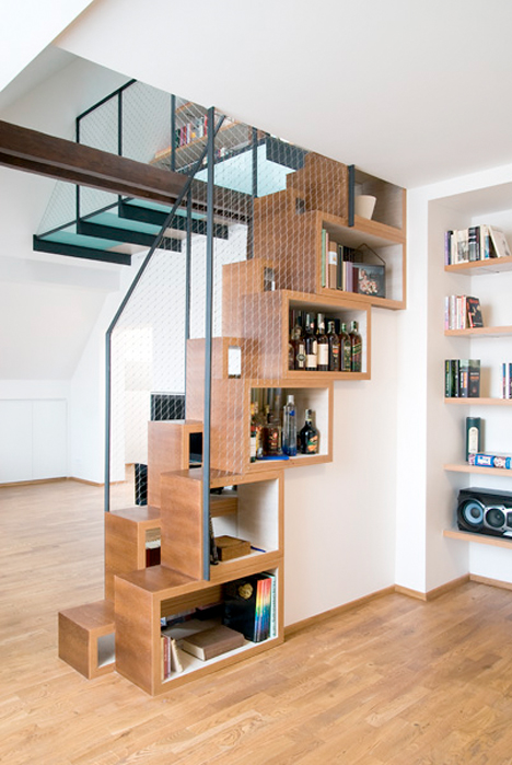Compact Loft Stairs Ultra Compact 1
