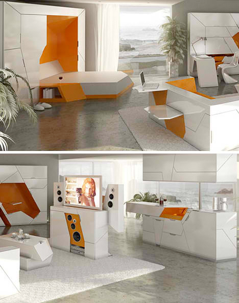 Incroyable Boxetti: 3 All In One Fold Out Living Spaces