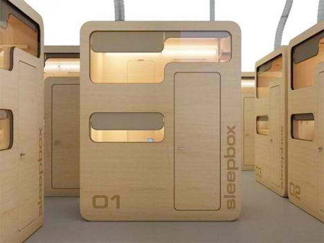 Fold Out Room Sleepbox
