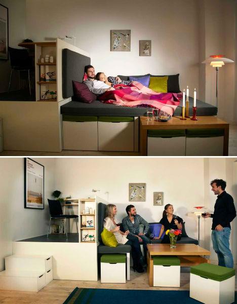 Fold Out Rooms Matroshka 1