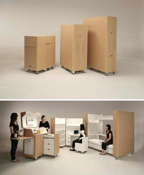 Fold Out Rooms Suzuki
