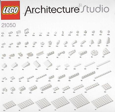 LEGO Architecture Studio 3