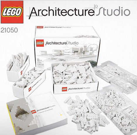 Modern Architecture Lego learn modern architecture principles with new lego kit | urbanist
