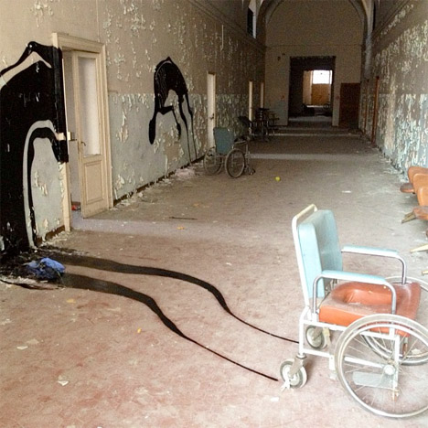 Lost Souls Abandoned Mental Hospital Art 2