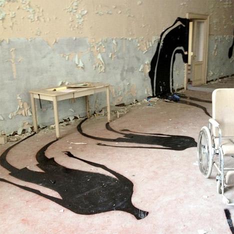 Lost Souls Abandoned Mental Hospital Art 4