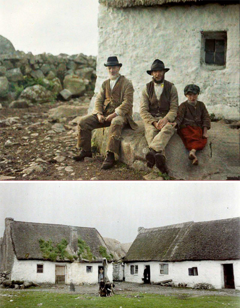 Oldest Color Photographs Ireland 1