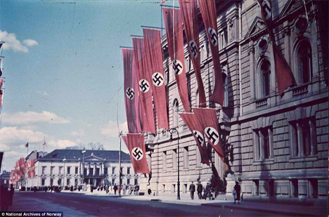 Oldest Color Photos Nazi Germany 1