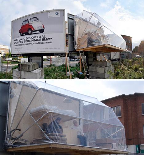 Reclaimed Billboard Houses 4