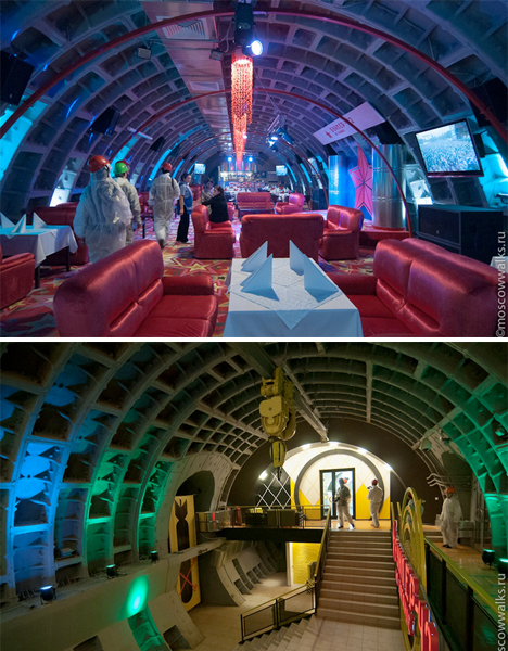 Repurposed Military Architecture Bunker Night Club