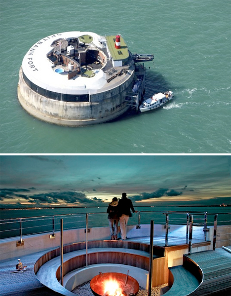 Repurposed Military architecture Fort Luxury Resort