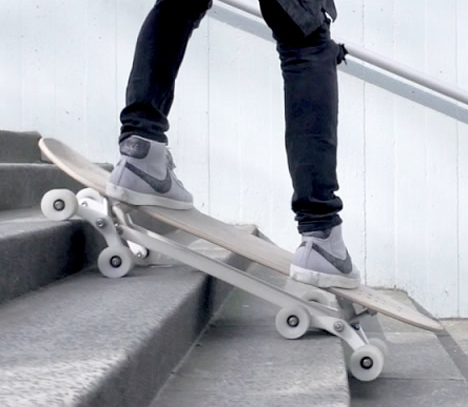 Stair Rover Skateboard Design 1