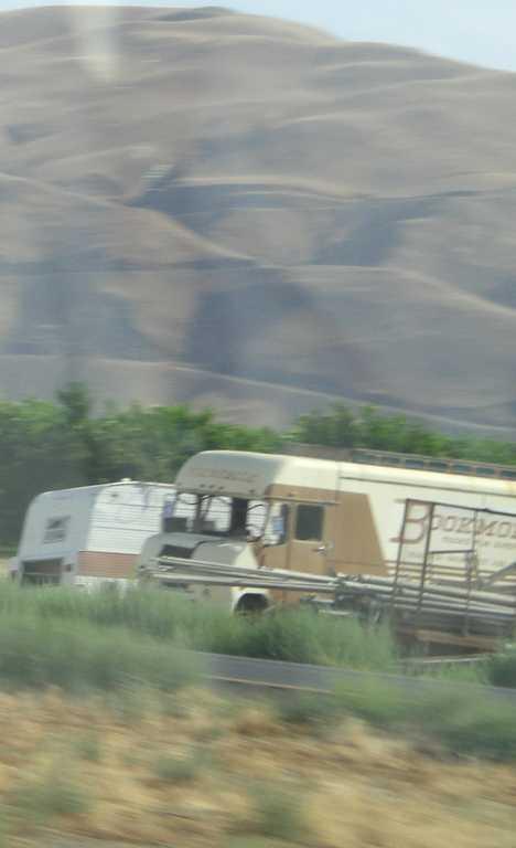 abandoned bookmobile I-5 California