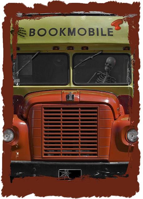 Stephen King bookmobile