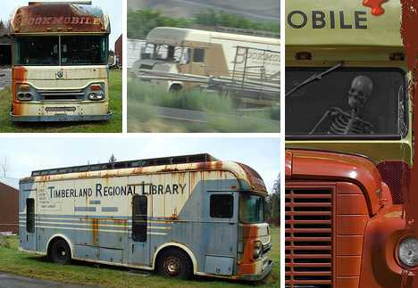 abandoned bookmobiles