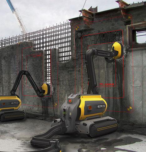 building deconstructing robotic system