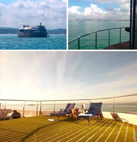 converted british sea fort