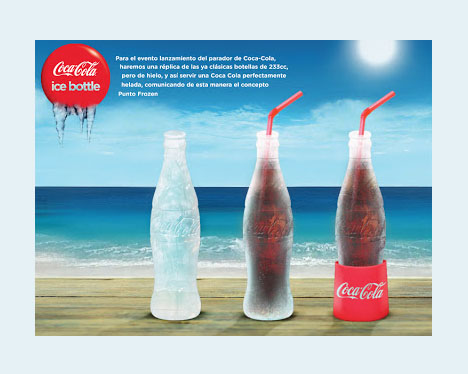 cool ice bottle design