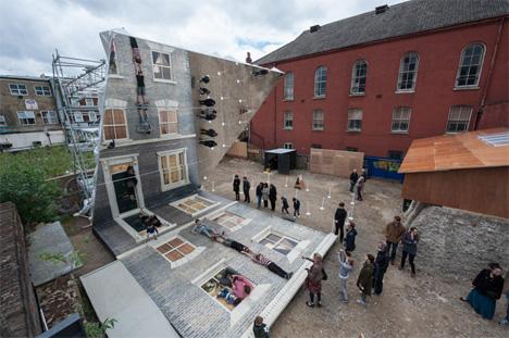 dalston house installation art