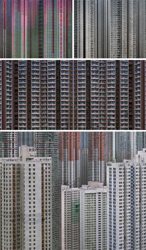 dense dark city photos
