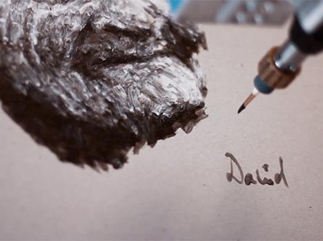 eDavid Robot Painting