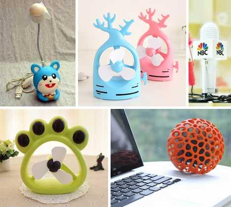 Chinese USB mini fan designs