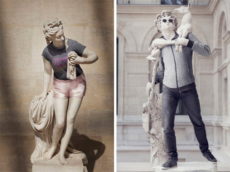 hipsters in stone