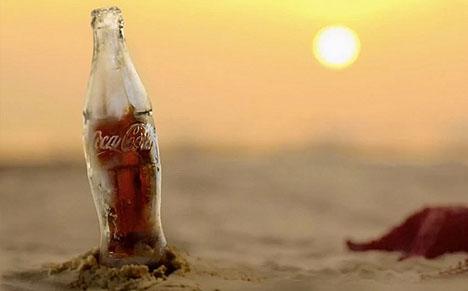 ice coke bottle design