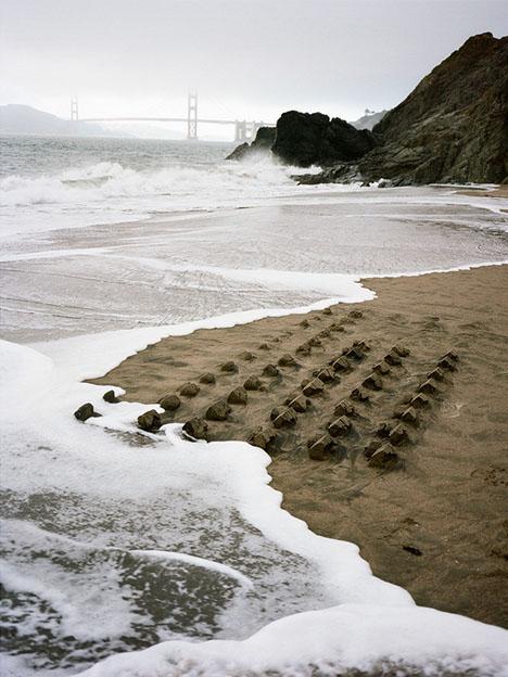 sand house installation art