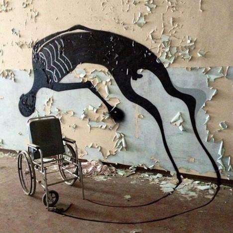 shadow wall art