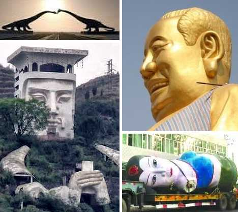 China's worst statues