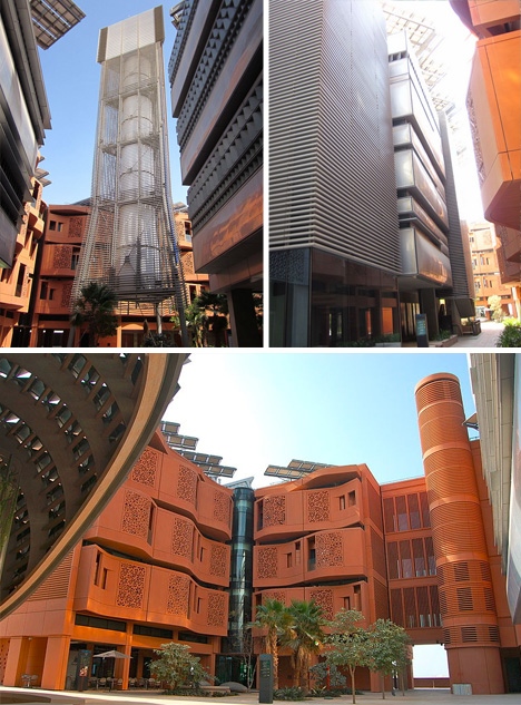 sustainble desert city design
