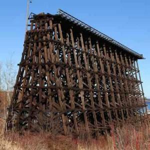 Highest Steam 9 Abandoned Railroad Amp Train Bridge