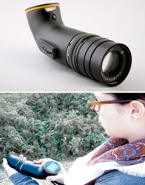 Amazing Cameras Periscope DSLR
