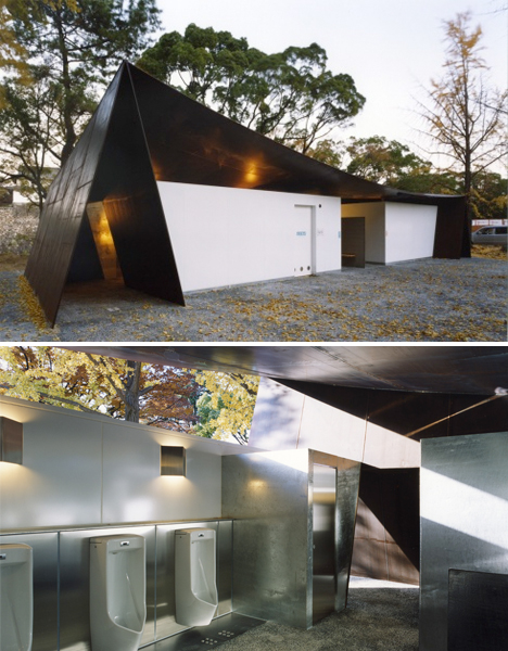 Rad restroom designs 15 actually awesome public potties urbanist Public bathroom design architecture