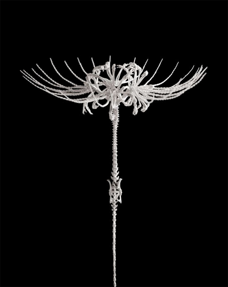 Bone Flowers Skeleton Sculptures 7