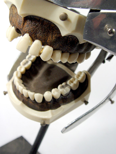 Creepy Dental Antique Model 2