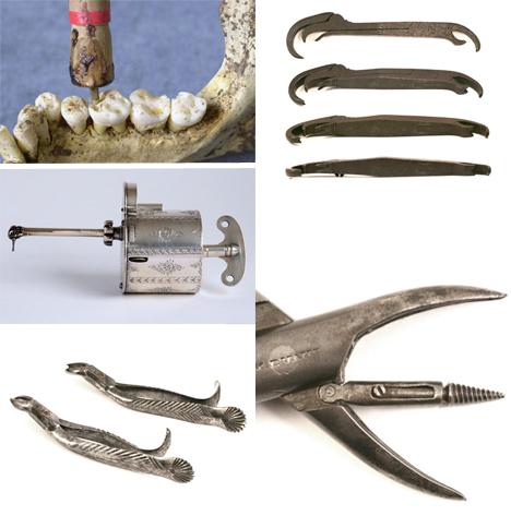 Creepy Dental Antique Tools