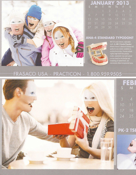 Creepy Dental Calendar