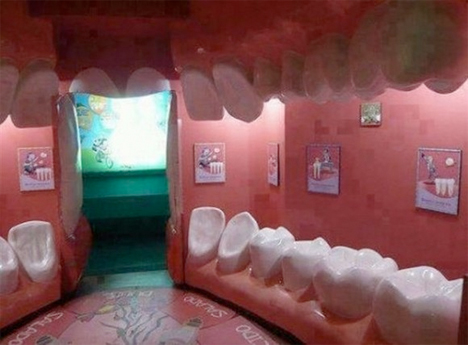 Creepy Dental Waiting Room